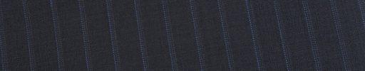 【Ed_0s303】ダークネイビー+9ミリ巾ライトブルー・ドットストライプ