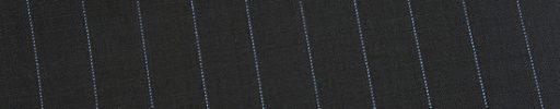 【Ed_0s305】ブラック+1.2cm巾ライトブルーストライプ