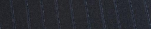 【Ed_0s306】ダークネイビー+1.2cm巾ライトブルードット・織りストライプ