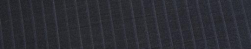 【Ed_0s307】ダークブルーグレー・ピンチェック+5ミリ巾織りストライプ
