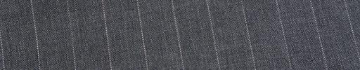【Ed_0s513】ミディアムグレー+1.2cm巾ストライプ