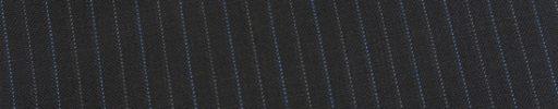 【Ed_0s529】チャコールグレー+1cm巾水色・白交互ストライプ
