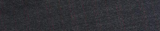 【Ed_0s535】チャコールグレー+1.8cm巾赤・赤W織り交互ストライプ