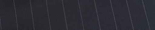 【Ed_0s540】ネイビー+1.3cm巾白ストライプ