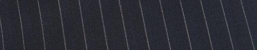 【Ed_0s545】ネイビーヘリンボーン+1cm巾白ストライプ