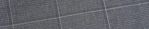【Ed_0s551】グレーバスケットチェック+5×4cmグレー・白ペーン