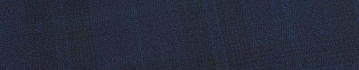 【Ed_0s555】ネイビー・黒6.5×5cmファンシーチェック+ブループレイド