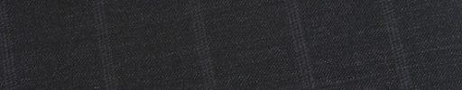 【Ed_0s571】チャコールグレー+2.5cm巾グレーストライプ