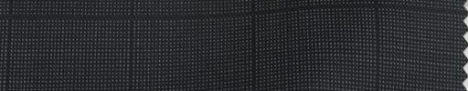 【Sp_0s08】ダークグレーピンチェック+3.5×3cm織りペーン