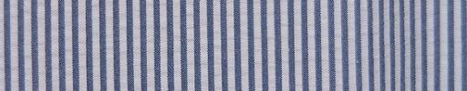 【Brza_19】ブルーグレー×ホワイト2ミリ巾ストライプ