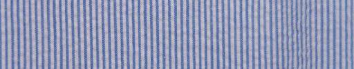 【Brza_22】ホワイト×ブルーグレー1ミリ巾ストライプ