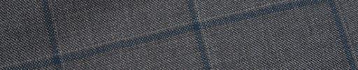 【Ca_01w019】ミディアムグレー+6×4.5cmブルー・グレーペーン