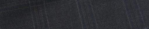 【Ca_01w021】チャコールグレー5×3.5cmチェック+ネイビーチェック