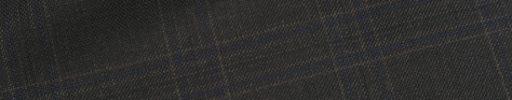 【Ca_01w022】ダークブラウン5×3.5cmチェック+ネイビーチェック