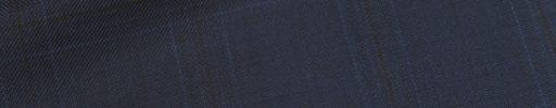 【Ca_01w023】ネイビー5×3.5cmチェック+ブラックチェック