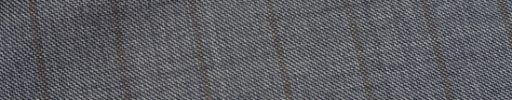 【Ca_01w034】グレーシャークスキン+1.7cm巾ブラウンストライプ