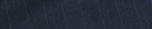 【Ca_01w035】ダークブルーグレーシャドウ柄+1.5cm巾白・黒交互ストライプ