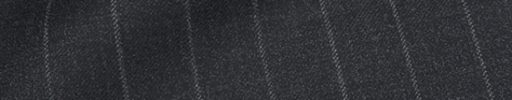 【Ca_01w043】チャコールグレー+1.6cm巾ストライプ