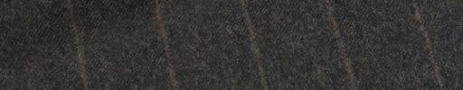 【Ca_02w01】ダークブラウン+2.2cm巾ブラウンストライプ