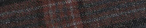 【Ca_02w48】チャコールグレー+10×9cmブラウン・黒・ライトグレーチェック