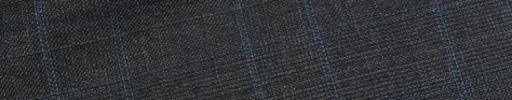 【dov_0w24】チャコールグレー5.5×4.5cmチェック+ネイビー・ライトブルーチェック