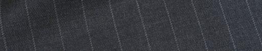 【dov_0w28】チャコールグレー+1.2cm巾ストライプ