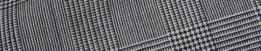 【Fx_ct44】白黒5×4cmグレンチェック