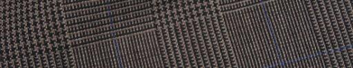 【Fx_ct50】ブラウン7.5×5.5cmグレンチェック+ブルーペーン