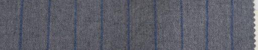 【To_0w07】ライトグレー+1.3cm巾ブルーストライプ
