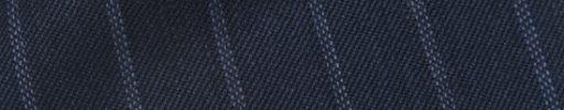 【Cb_0w035】ダークブルーグレー+1.5cm巾ドットストライプ