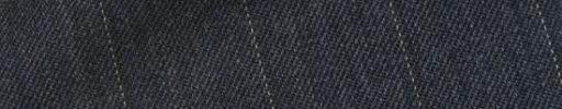 【Cb_0w053】ブルーグレー+2.2cm巾織り・ドットストライプ