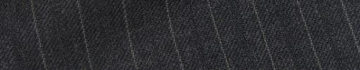 【Cb_0w069】チャコールグレー柄+1cm巾織り・グレーストライプ