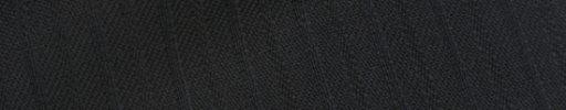 【Cb_0w104】ブラック柄+1cm巾織り交互ストライプ