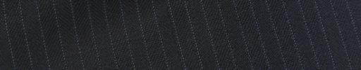 【Ch_0w07】ダークネイビーヘリンボーン+5ミリ巾ストライプ