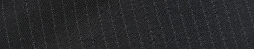【Ch_0w09】チャコールグレーヘリンボーン+5ミリ巾ストライプ