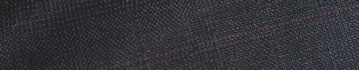 【Ch_0w32】チャコールグレーチェック+4.5×4cm赤チェック