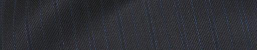【Ch_0w61】ダークグレー+1.3cm巾水色・織り交互ストライプ