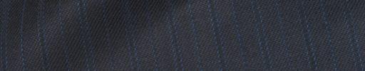 【Ch_0w62】ダークブルーグレー+1.3cm巾水色・織り交互ストライプ