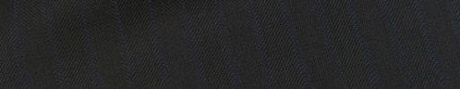 【Ec_0w014】ダークネイビーヘリンボーン+1cm巾ネイビーストライプ