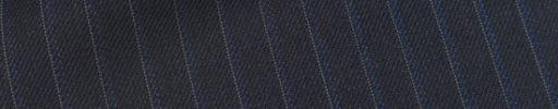 【Ec_0w041】ダークブルーグレー+1cm巾白・パープルストライプ