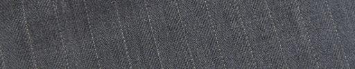 【Ec_0w067】ライトグレー1cm巾ヘリンボーン+ドットストライプ