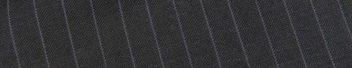 【Ec_0w076】ダークグレー柄+9ミリ巾ライトパープルストライプ