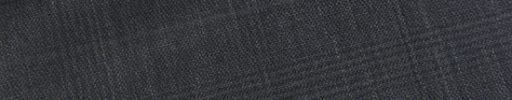 【Ec_0w078】チャコールグレーグレンチェック+4.5×4cmオーバーペーン