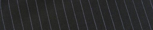 【Ec_0w081】ブラック+8ミリ巾白ストライプ