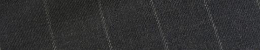【Hs_0wsr18】チャコールグレー+2cm巾ストライプ