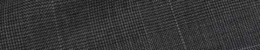 【Hs_op03】チャコールグレーグレンチェック+5.5×4.5cmライトパープルペーン