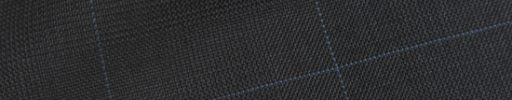 【Hs_op04】ダークグレーグレンチェック+5.5×4.5cmライトブルーペーン