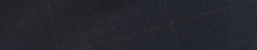 【Hs_op05】ネイビーグレンチェック+5.5×4.5cmレッドペーン