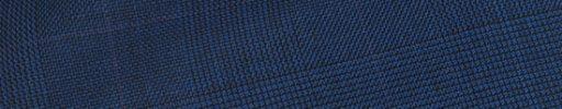 【Hs_op07】ロイヤルブルーグレンチェック+5.5×4.5cmパープルペーン