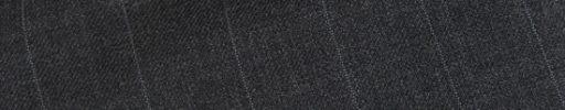 【Hs_op22】チャコールグレー+1.7cm巾ストライプ